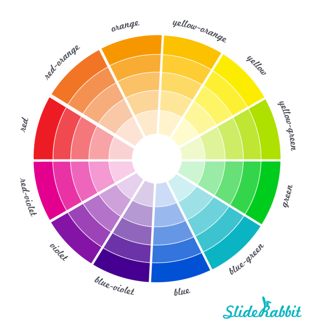 SlideRabbit, color wheel, VisualSugar, Color